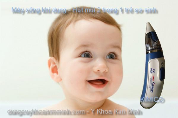 Máy xông khí dụng hút mũi trẻ em sơ sinh Coclean-0120
