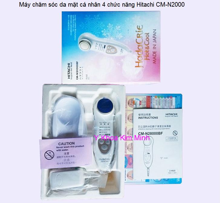 máy chăm sóc da mặt mini Hitachi CM-N2000 Y Khoa Kim Minh bán sỉ giá rẻ
