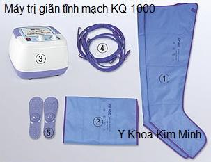 May dieu tri benh gian tinh mach bang ap suat KQ-1000 Y Khoa Kim Minh