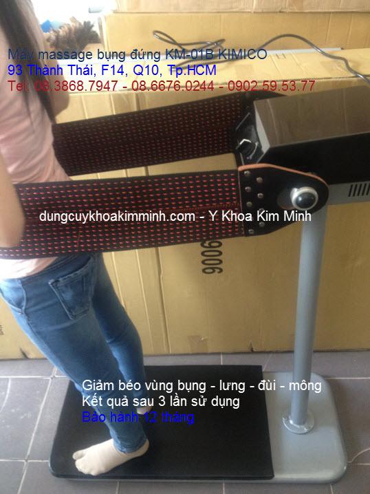 Máy mat xa rung giảm béo body KM-01B