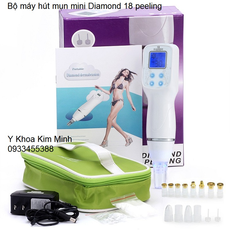 Bo may hut mun mini Diamond 18 peeling dermabrasion Kim Minh 0933455388 hochiminh city