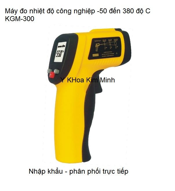Máy đo nhiệt độ công nghiệpi -50℃ - 380℃ nhập khẩu Y Khoa Kim Minh