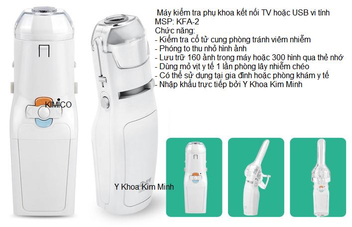 may kiem tra phu khoa ket noi TV may vi tinh USB KFA-2 Y Khoa Kim Minh