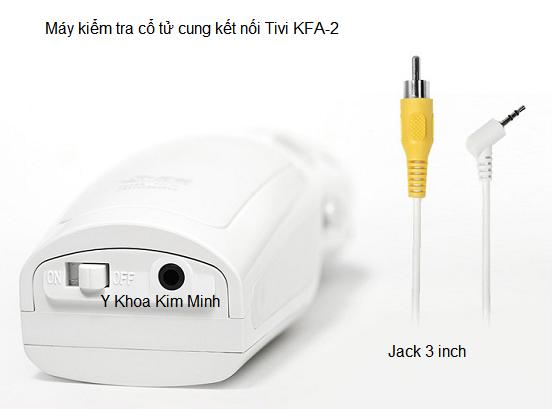 Máy kiểm tra sản khỏa kết nối tivi KFA-2 Y Khoa Kim Minh
