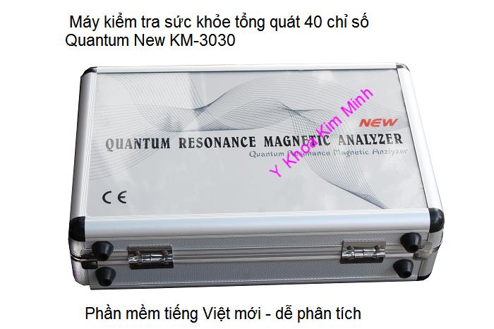 Bán máy kiểm tra sức khỏe lượng tử mini Quantum KM-3030 Y Khoa Kim Minh