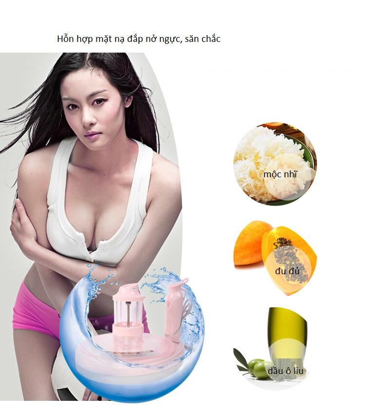 Máy làm mặt nạ trái cây giúp nở ngực và săn chắc
