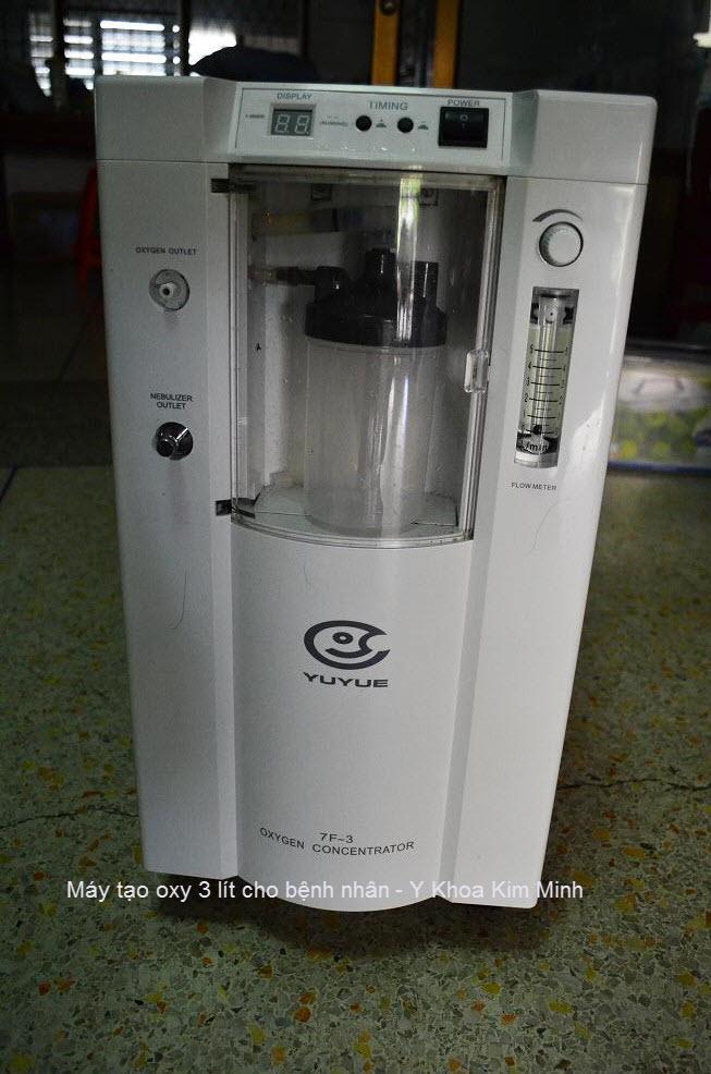 máy tạo oxy y tế cho người bệnh
