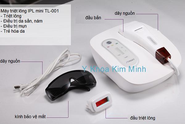 Máy triệt lông trẻ hóa da trị nám IPL mini TL-001 Y Khoa Kim Minh