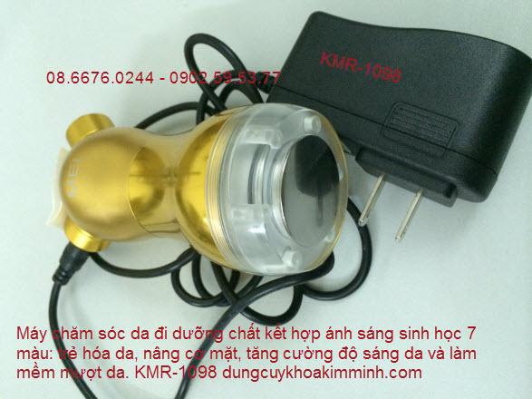 máy dưỡng da mặt mini ánh sáng sinh học bioled KMR1098 Y Khoa Kim Minh