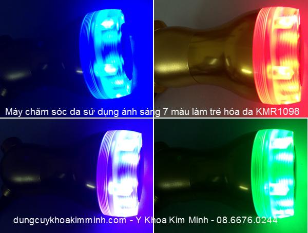 may cham soc da mini anh sang sinh hoc KMR1098 Y Khoa Kim Minh