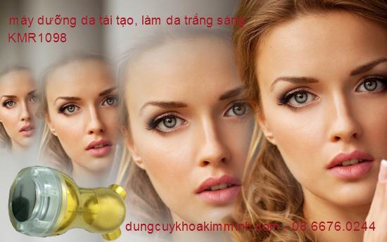 máy chăm sóc da dưỡng da ánh sáng Phonton trẻ hóa da chống quầng thâm mắt Y Khoa Kim Minh