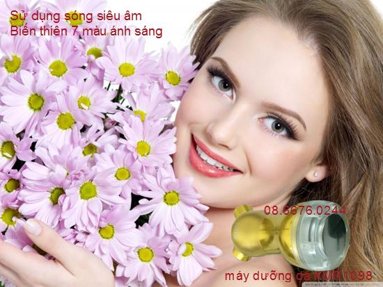 may cham soc da song sieu am anh sang sinh hoc KMR1098 Y Khoa Kim Minh