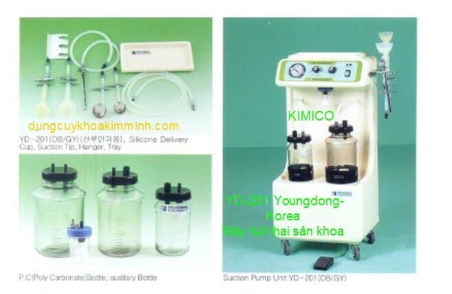 máy hút thai sản khoa YD201