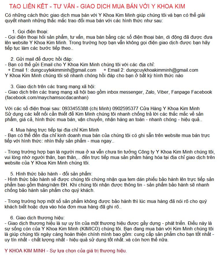 Về việc thuê đèn mổ 5 bóng phẫu thuật L735 từ Y Khoa Kim Minh