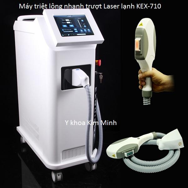 Máy triệt lông OPT SHR bắn nhanh Laser lạnh KEX-710