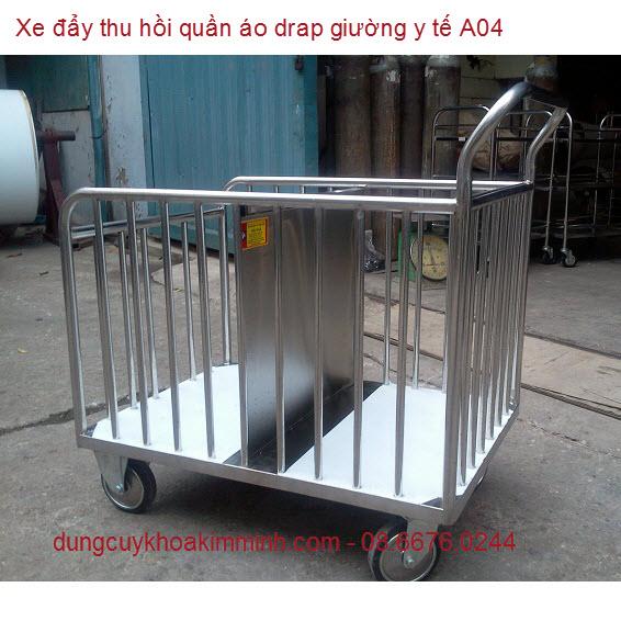 Xe thu hồi rác y tế bệnh viện