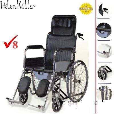 Xe lăn đa năng thuận tiện cho người bệnh