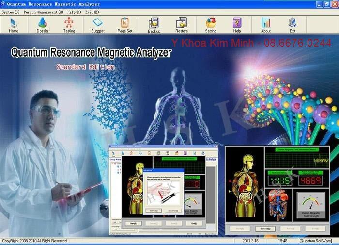 Công dụng của máy phân tích chỉ số sức khỏe cơ thể