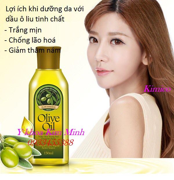 Công dụng của dầu olive chăm sóc da