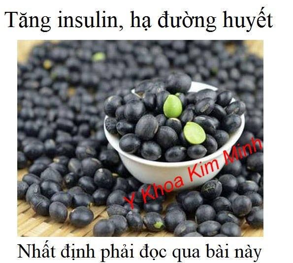 Bệnh tiểu đường phải ăn 3 loại đậu giúp tăng insuline, hạ đường huyết
