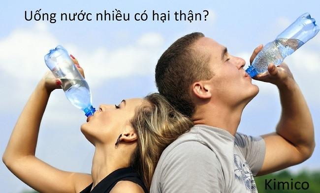 #3 thói quen uống nước hại thận, hãy dừng ngay