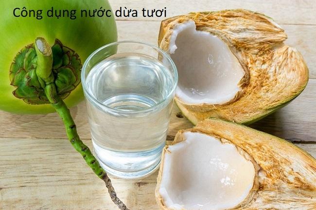 Chữa sáng mắt, đào thải độc tố với trái dừa