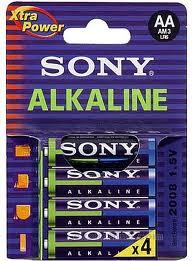 PIN MÁY ĐO HUYẾT ÁP SONY 2A ALKALINE
