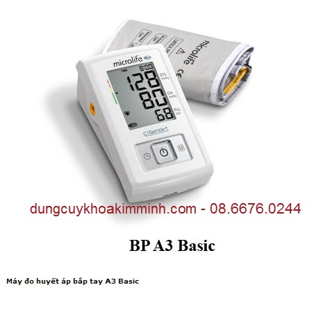 MÁY ĐO HUYẾT ÁP Microlife BP 3A Basic New 2014