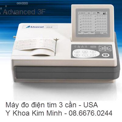 MÁY ĐIỆN TIM 3 CẦN ADVANED ECG-3F