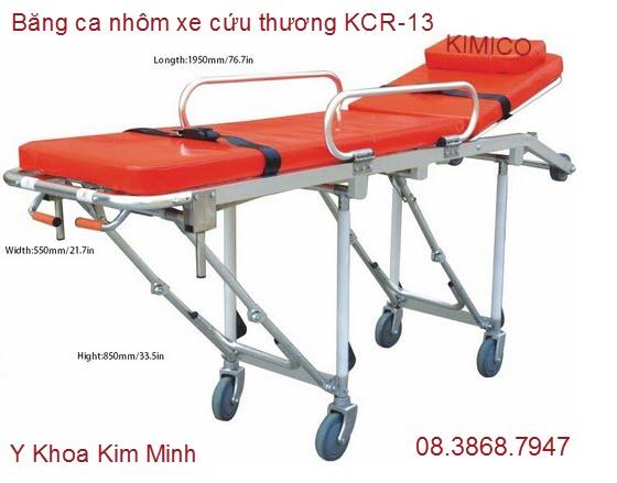 Băng ca nhôm dùng xe cứu thương KCR-13