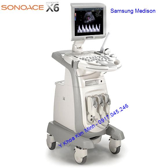 Máy siêu âm màu Samsung Medison Sonoace X6