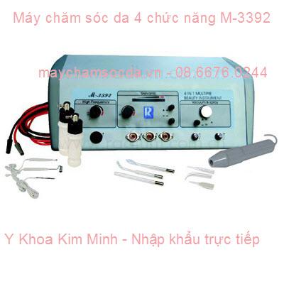 MÁY CHĂM SÓC DA MẶT 4 TRONG 1 M-3392