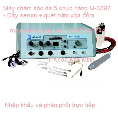 MÁY CHĂM SÓC DA MẶT 5 TRONG 1 M-3397