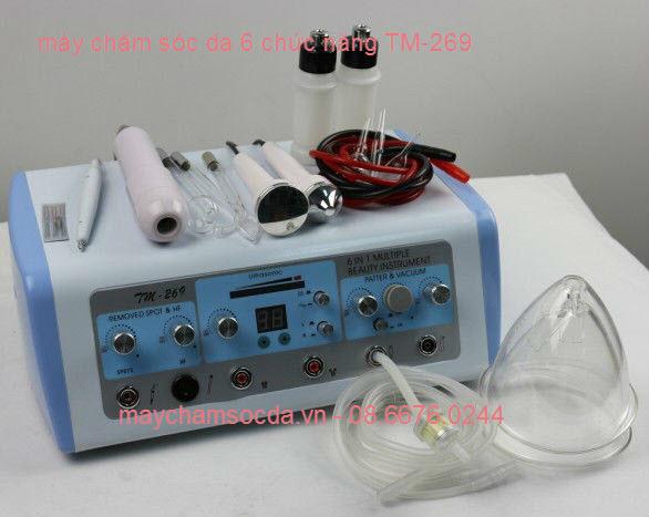 Máy chăm sóc da mặt 6 chức năng TM-269