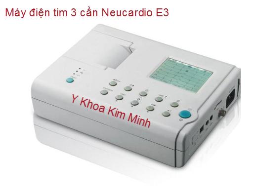 MÁY ĐIỆN TIM 3 CẦN NEUCARDIO E3