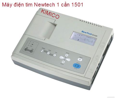 MÁY ĐIỆN TIM 1 CẦN NEWTECH ECG 1501