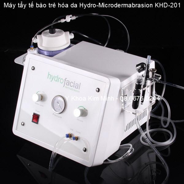 Máy tẩy da trẻ hóa tế bào Hydro-microdermabrasion