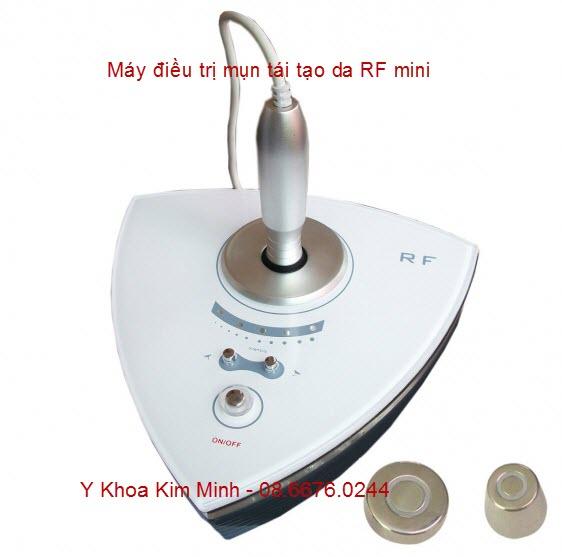 Máy trị mụn tái tạo da RF mini KM-004