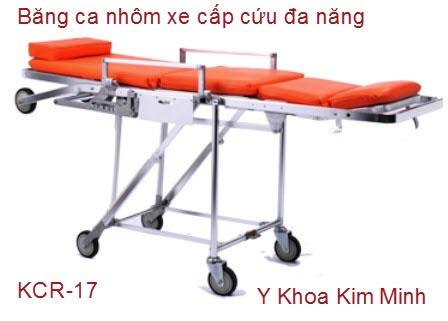 Cáng cứu thương nhôm xe cấp cứu KCR-17