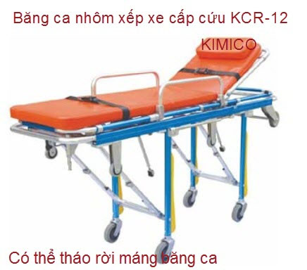 Băng ca nhôm xe cấp cứu tháo rời KCR-12
