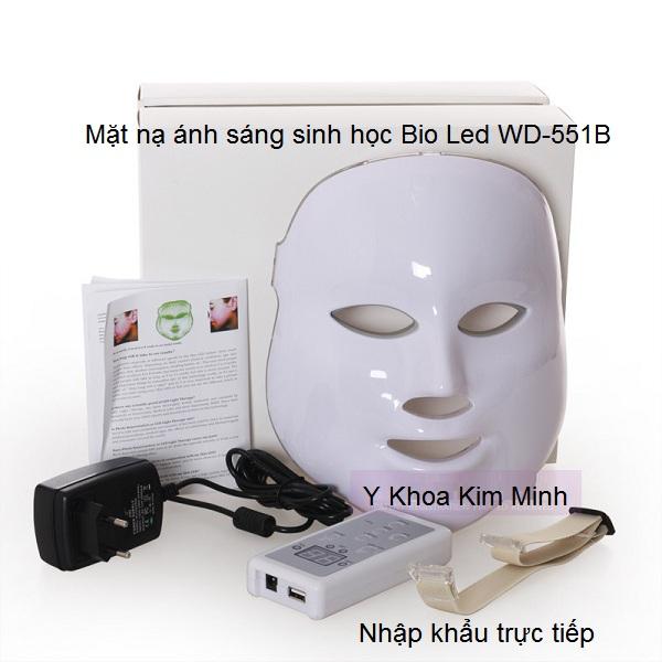 Mặt nạ ánh sáng sinh học trẻ hóa da Bio Led WD-551B