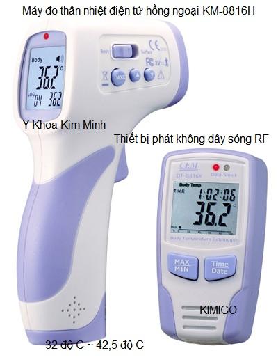 Máy đo nhiệt độ thân nhiệt điện tử KM-8816H