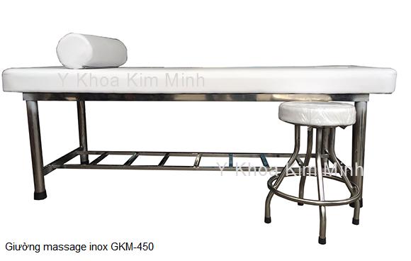 Giường massage inox GKM-450