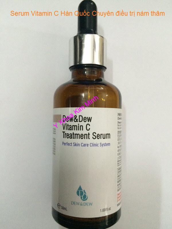 Serum Vitamin C điều trị thâm nám da Hàn Quốc