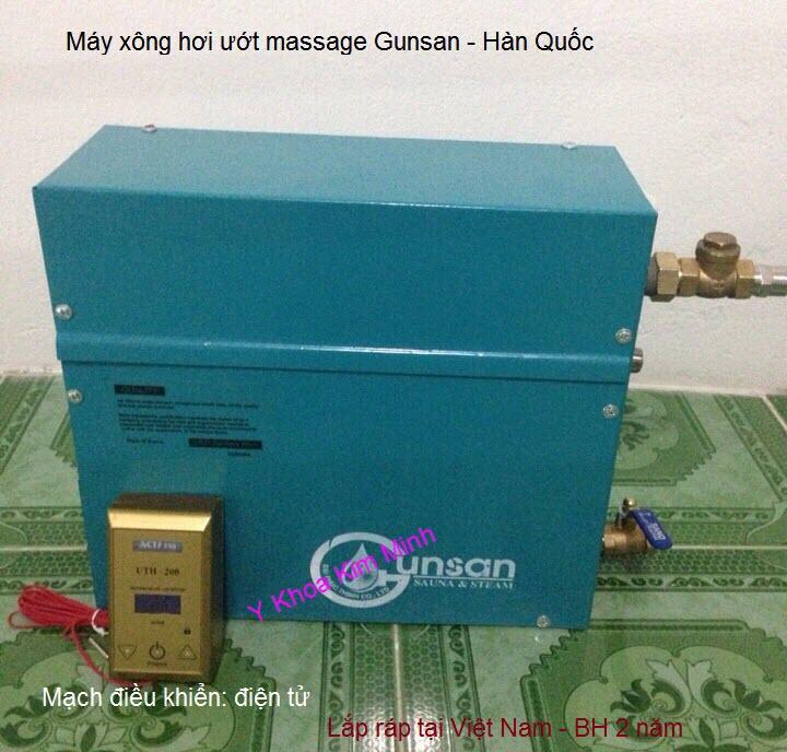 Địa chỉ bán máy xông hơi ướt massage Gunsan Hàn Quốc