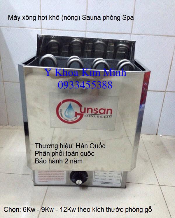 Máy xông hơi nóng Sauna Gunsan Hàn Quốc