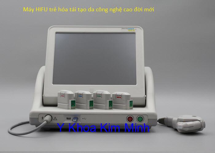 Máy HIFU trẻ hóa da công nghệ cao