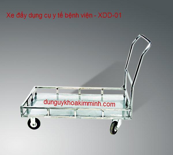 Xe đẩy dụng cụ y tế bệnh viện XDD-01