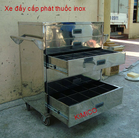 XE ĐẨY CẤP PHÁT THUỐC XDT-01