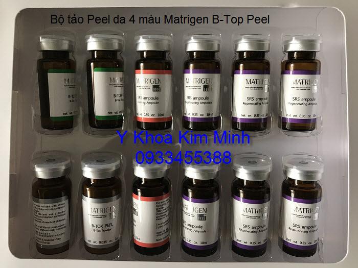 Tảo Peel da 4 màu Matrigen B-Tox Peel Hàn Quốc